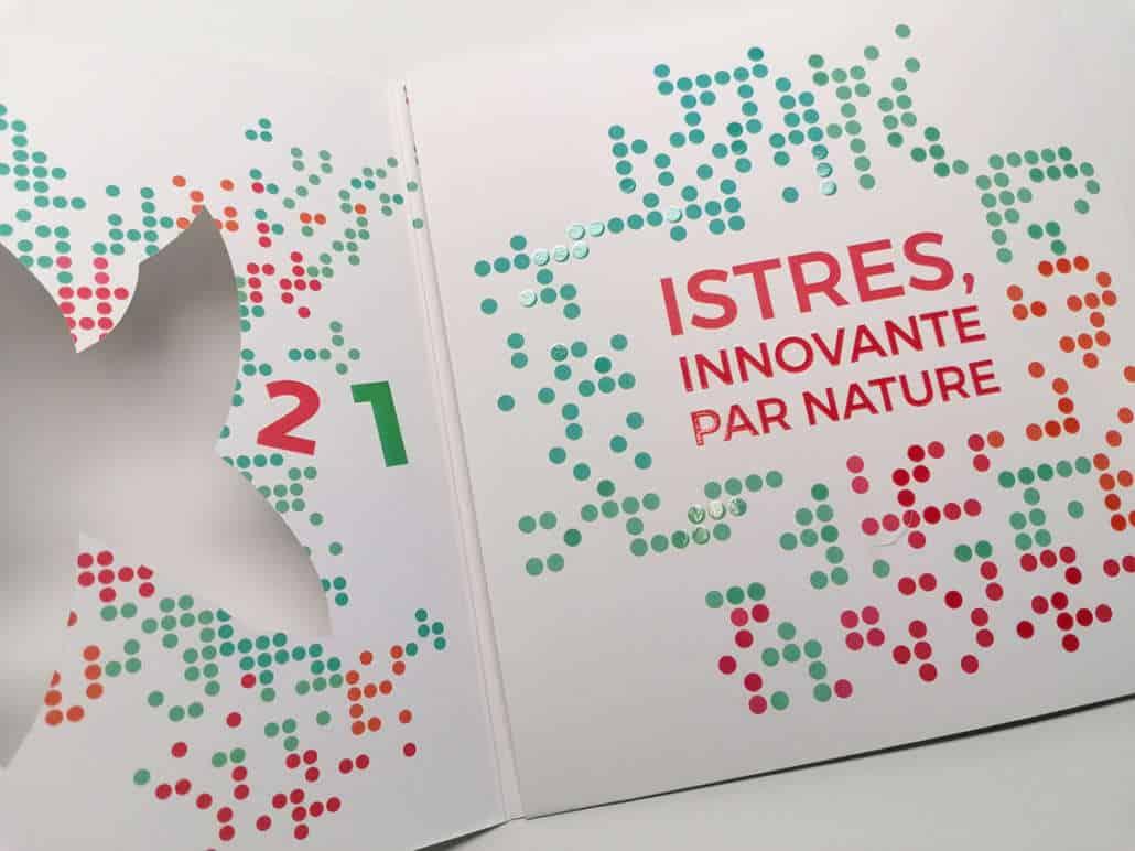 Impression + carte de voeux + Aix en Provence Marseille et Bouches du Rhône