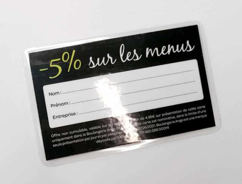 Impression + carte de fidélité + Aix en Provence Marseille et Bouches du Rhône