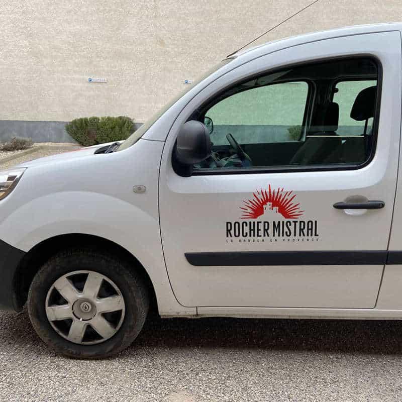 Impression + adhésif marquage véhicule + Aix en Provence Marseille et Bouches du Rhône