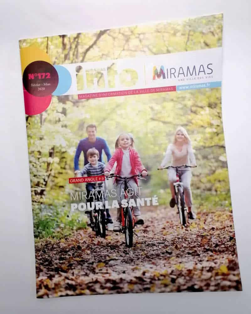 Impression + magazine municipal + Aix en Provence Marseille et Bouches du Rhône