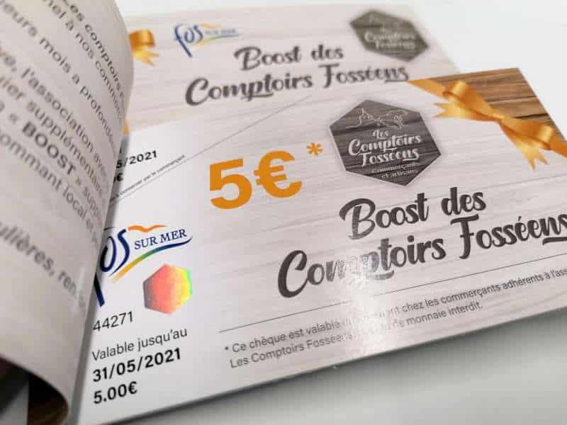 Impression + cheque cadeau sécurisé + Aix en Provence Marseille et Bouches du Rhône