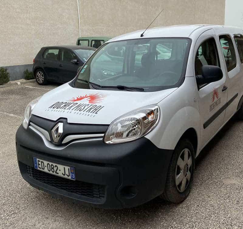 Impression + flocage véhicule + Aix en Provence Marseille et Bouches du Rhône