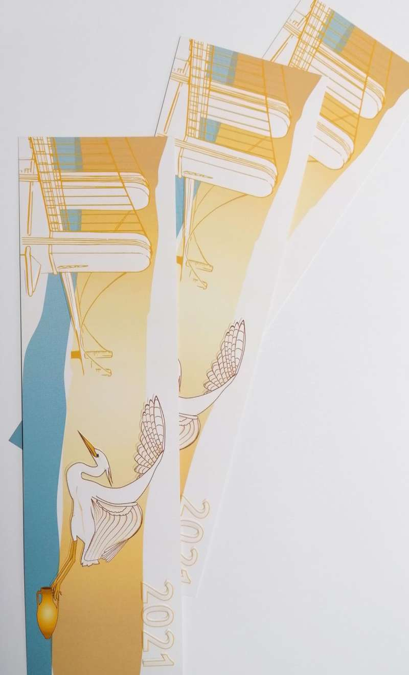Impression + marque page + Aix en Provence Marseille et Bouches du Rhône