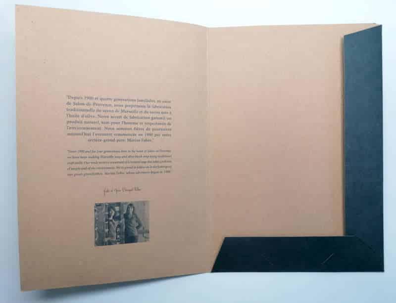 Impression + pochette encoches + Aix en Provence Marseille et Bouches du Rhône